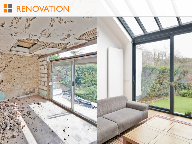 Richard Finnie - Renovation
